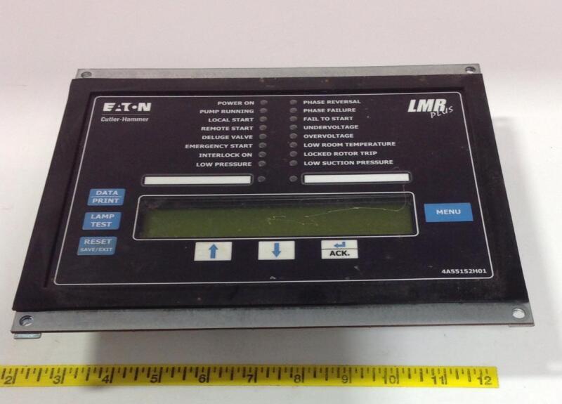 EATON CUTLER-HAMMER LMR PLUS ELECTRIC FIRE PUMP CONTROL PANEL 4A55152H01