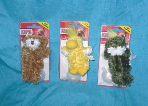 Kong Dr Noys Toy Extra Small Teddy Bear, Duck, Frog Dog Puppy Teacups