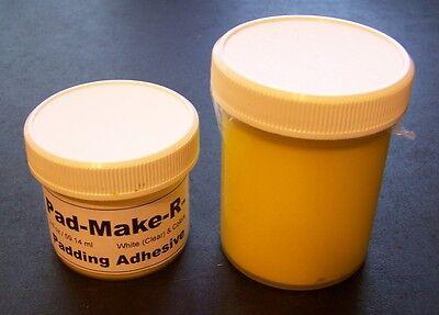 4 Ozs Yellow Pad Glue Padding Adhesive Compound Notepads Ree Items Pads4u