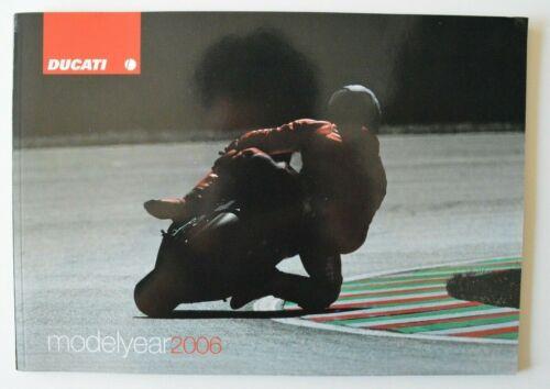 DUCATI Full Line 2006 dealer brochure - English Italian Paul Smart 999RS4RS