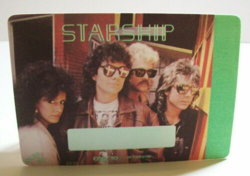 Starship Backstage Pass Knee Deep In The Hoopla Concert Tour Original Rock Gift