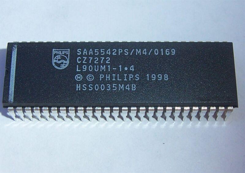 PHILIPS SAA5542 MICROCONTROLLER