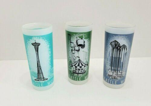 3 Vintage 1962 Seattle World