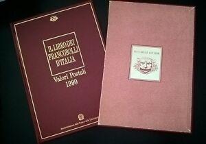 1990-Libro-dei-Francobolli-edito-dalle-poste-con-tutti-i-valori-insGomma-Integra