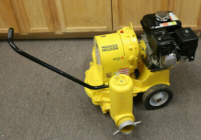 Wacker Neuson Pd3pd3ta Watertrash Pump 3 Honda Pre-owned Pickup Nj