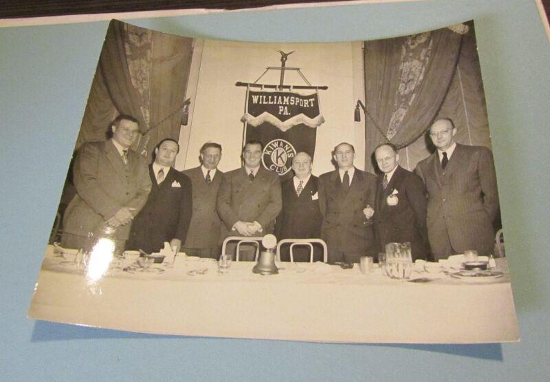 1950 Williamsport Pennsylvania Kiwanis Club Banquet Photo 8x10 Vintage Original