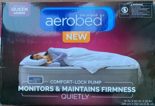 air mattress w comfort lock pump queen