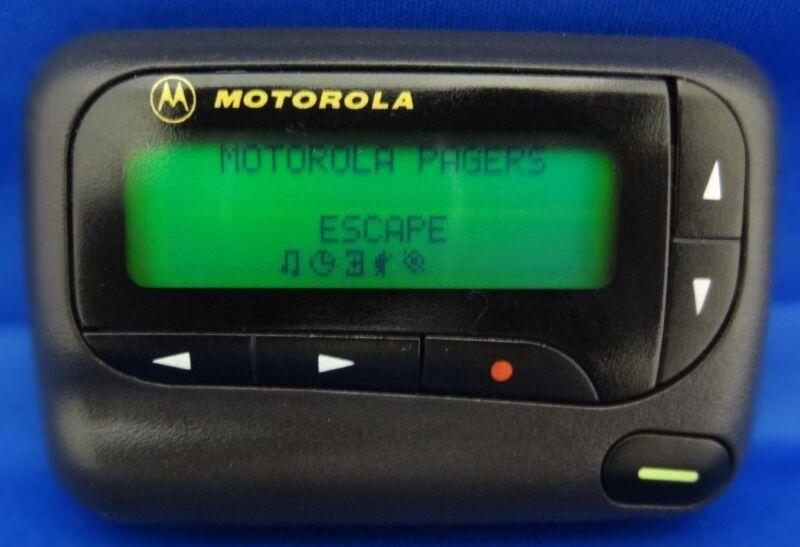 1-MOTOROLA ADVISOR GOLD POCSAG 512,1200,2400 BAUD GREAT FOR FIRE, EMS,SPORTS ETC