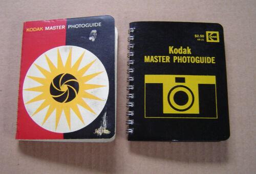 Vintage Kodak Master Photoguide 1966 First Edition & 1973