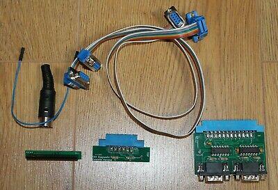 Commodore 64 Dead / Diagnostic cartridge plus test harness