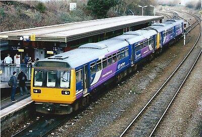 142041+142048 Northern Rail 6x4 Quality British Rail Photo