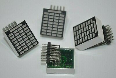 Lot Of 4 Everlight Character Led Display Module Man59246 522 942031-01