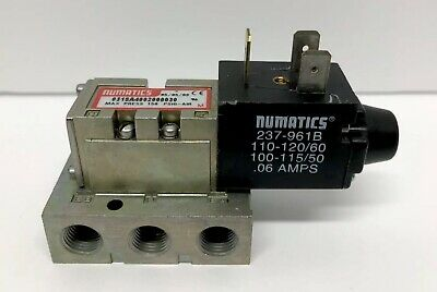 Numatics 031sa4002000030 Solenoid Valve And Manifold