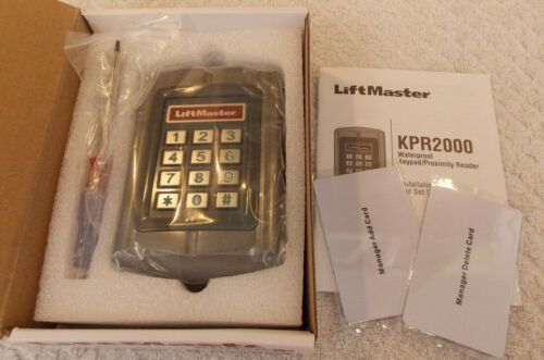 Liftmaster KPR2000 Wired Keypad and Proximity Reader Commercial Door Operators