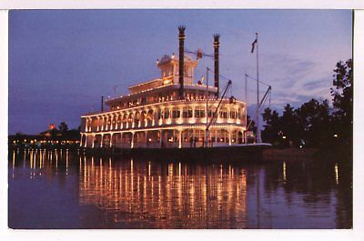 The River Boat EMPRESS LILLY, WDW Village, Orlando FL Postcard