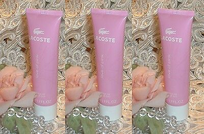 LOT~ Lacoste  LOVE OF PINK ~ 1.7 oz / 50ml EACH ~ Perfume d Shower Gel s