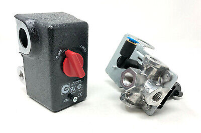 Chicago Pneumatic Belaire Atlas Copco Pressure Switch 1312100570 145-175 Psi
