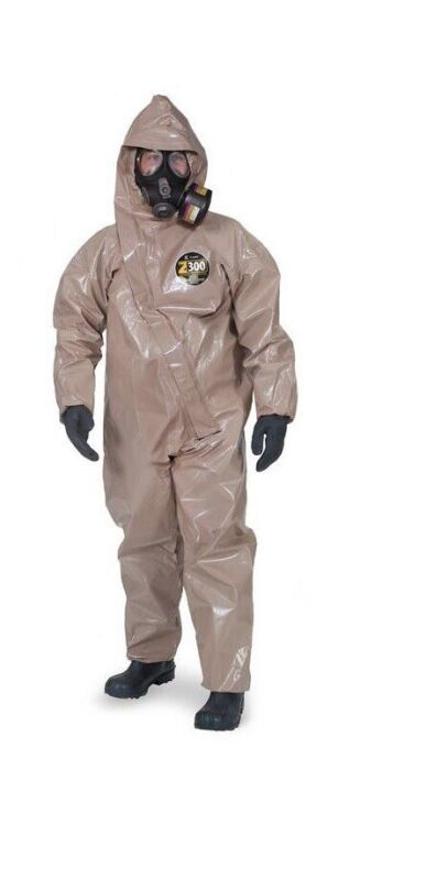 Hazmat Kappler Zytron 300 NFPA Certified Chemical Protective Overall LG-XL Suit