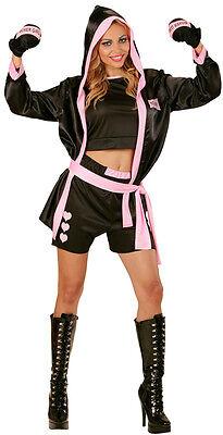 Sexy Boxer Girl Boxerin Kostüm NEU - Damen Karneval Fasching Verkleidung Kostüm