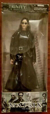 Trinity in Trenchcoat 12 inch action Figure The Matrix Film