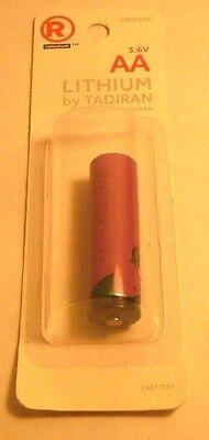 RadioShack AA 3.6V 2200mAh Lithium Battery