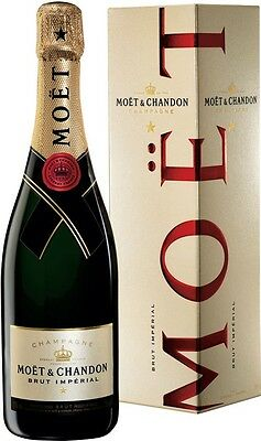 MOET & CHANDON IMPERIAL BRUT CHAMPAGNE 750ML