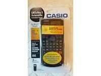Casio scientific calculator brand new in box. Recommended for GCSE, AS & A level.