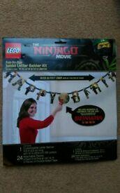 Lego Ninjago Movie Birthday Banner