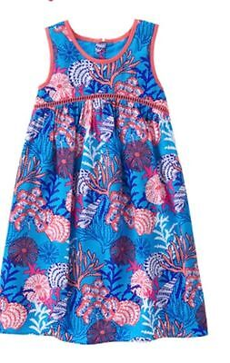 NWT Gymboree Mermaid Cove Seaprint dress Girls 4,6,7,8,10