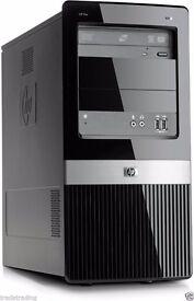Cheap Fast HP dx2400 Dual Core 2.5GHz 4GB 250GB Desktop PC Mini Tower Win 7 WiFi