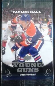 2010/11 UPPER DECK TAYLOR HALL RC YOUNG GUNS OVER-SIZED $15
