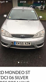 Ford mondeo 2.2 tdci st 56 silver spares breaking EC