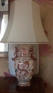 Stunning Masons Ironstone Imperial Dragon table lamp