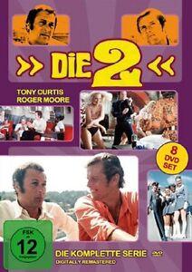 Die 2 - Komplette Serie * NEU OVP *8 DVD Box Roger Moore, Tony Curtis (die zwei)