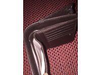 Radley leather wallet- brown