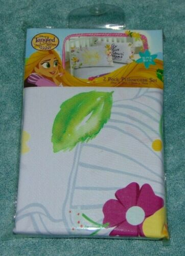 Disney Tangled 2 Pack Pillowcase Set 20 x 30 inches