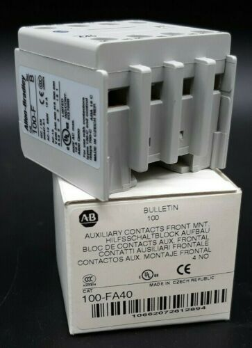 Allen-Bradly 100-FA40 Auxiliary Contact Block