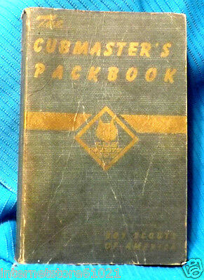 CubScouts  Cubmaster's 1943 Copyright Very Acceptable & NEVER Written in