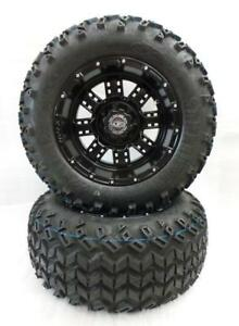 "Golf Cart Wheels & Tires 12"" Transformer Wheels - Customize your Cart!!"