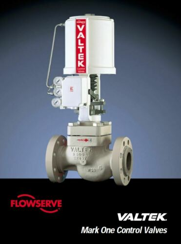 Brand New FLOWSERVE Valtek Mark One Control Valves