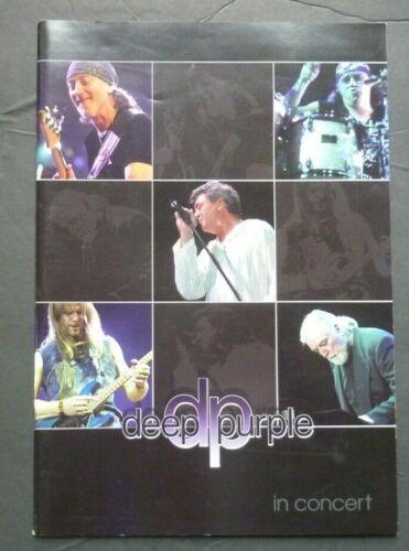 Deep Purple 2002 In Concert Tour Program - Version 1 with Jon Lord