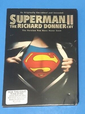 Superman II: The Richard Donner Cut (DVD,