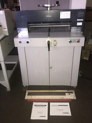 Standard Horizon Pc-64 Electric Paper Cutter Free Xtra Knifecutting Sticks