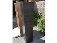 BATHROOM CABINET WITH TWO DOORS WALL HUNG OR FLOOR STANDING 1635 X 350 X 350MM