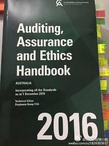 Auditing Assurance and Ethics Handbook 2016 Queens Park Canning Area Preview