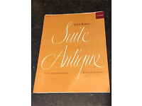 Suite Antique for Flute, Harpsichord and strings by John Rutter