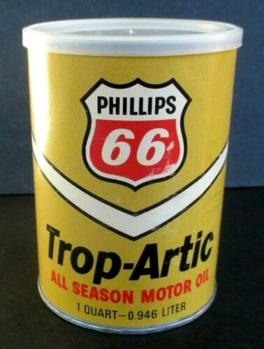 SEALED Vtg 1973 PHILLIPS 66 OIL CAN PUZZLE ~ Trop-Arctic 2-Sided 165 Piece