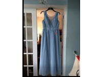 2x bnwt chi chi london rihanna dress in baby blue. 16 & 18