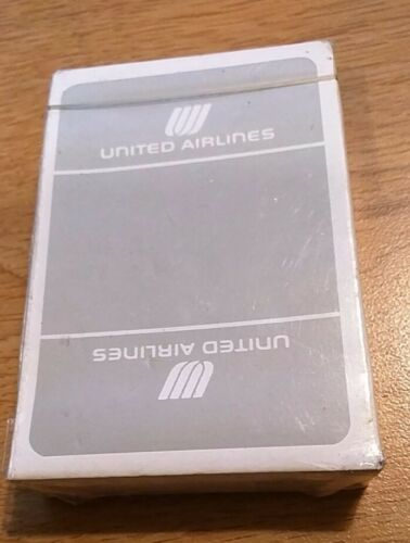 """NEW"" sealed never opened UNITED AIRLINES DECK OF PLAYING CARDS"