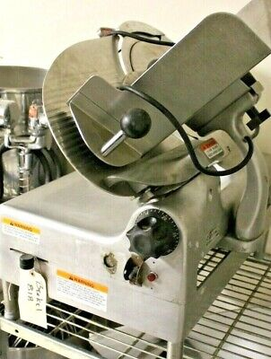 Berkel 818 Commercial Automatic Or Manual Slicer